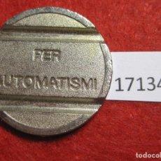 Monedas locales: FICHA, TOKEN, JETÓN. Lote 143942302