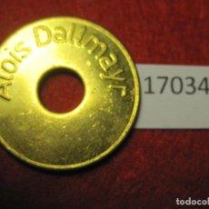 Monedas locales: FICHA, TOKEN, JETÓN. Lote 143942446