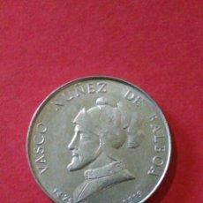 Monedas locales: FICHA/JETÓN/TOKEN. VASCO NUÑEZ DE BALBOA. DETERGENTE TU - TU.. Lote 144684153