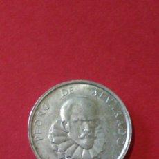 Monedas locales: FICA/JETÓN/TOKEN. PEDRO DE ALVARADO. DETERGENTE TU TU.. Lote 144684489