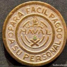 Monedas locales: 10 DISCOS 1 PESETA CADIZ TALLERES SAN CARLOS NAVAL. Lote 58830196