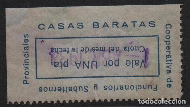 Monedas locales: COOPERATIVA FUNCIONARIOS...,---CASAS BARATAS-- 1 PTA, VER FOTO - Foto 2 - 145156558