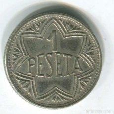 Monedas locales: ANTIGUA FICHA DE CASINO. SEGURAMENTE DEL CASINO DE MADRID.. Lote 146012042