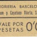 Monedas locales: VALE DE 5 CENTIMOS DE VIDRIERIA BARCELONESA SIN CIRCULAR . Lote 146315178