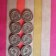 Monedas locales: LOTE FICHAS COMERCIALES_ACABADOS DE PANAS_1908-1983.. Lote 146958894