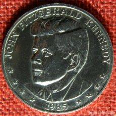 Monedas locales: PRESIDENCIAL TOKENS - TWENTY FIFTH ANNIVERSARY 1960 – 1985 – JOHN FITZGERALD KENNEDY 1985. Lote 147516486