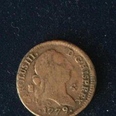 Monedas locales: 4 REALES, CARLOS III, 1779, LAS MONEDAS DE LOS BORBONES, COLECCION ORTIZ.. Lote 147696674
