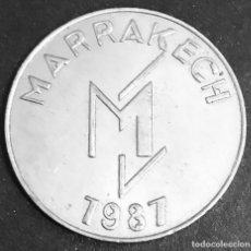 Monedas locales: FICHA DE CASINO 10 DIRHAMS LE GRAN CASINO MAMOUNIA . Lote 147849518