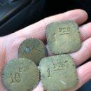 Monedas locales: LOTE DE FICHAS A IDENTIFICAR. Lote 148230537