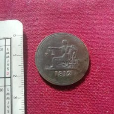 Monedas locales: CANADA. THOMAS HALLIDAY/TIFFIN - 1/2 PENNY 1812. TOKEN. Lote 150010310
