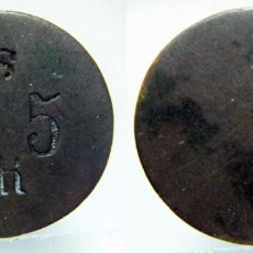Monedas locales: FICHA A IDENTIFICAR 26MM. Lote 152382506