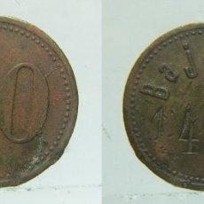 Monedas locales: ANTIGUA FICHA DE 20 MAQUINA TRAGAPERRAS DE ALEMANIA BAJAZZO. Lote 152599290
