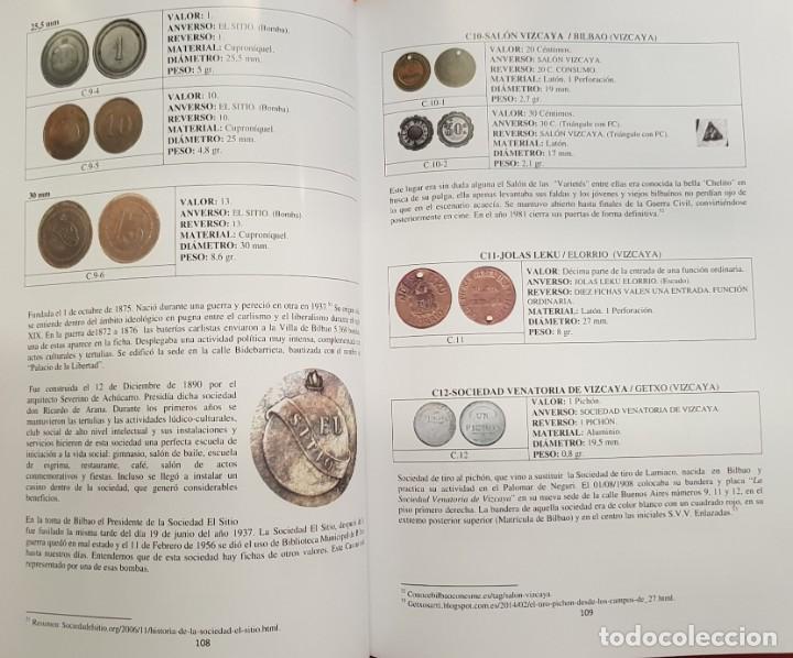 Monedas locales: NOVEDAD 2019 CATALOGO DE FICHAS DE COOPERATIVA, MONEDAS DE NECESIDAD y JETONES BILBAO EUSKADI ESPAÑA - Foto 6 - 195178148