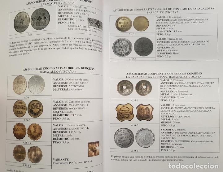 Monedas locales: NOVEDAD 2019 CATALOGO DE FICHAS DE COOPERATIVA, MONEDAS DE NECESIDAD y JETONES BILBAO EUSKADI ESPAÑA - Foto 8 - 195178148