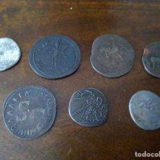 Monedas locales: 7 FICHAS COLECCIÓN TESAFILM. AÑOS 70/80. MONEDAS ROMANAS.. Lote 155221962