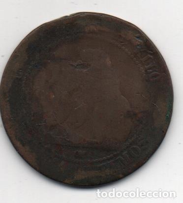 Monedas locales: F. A . I. MONEDA MONARQUICA CON RESELLO ANARQUISTA, VER FOTOS - Foto 2 - 155444662