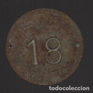 FICHA A CLASIFICAR, Nº 18, VER FOTOS (Numismática - España Modernas y Contemporáneas - Locales y Fichas Dinerarias y Comerciales)