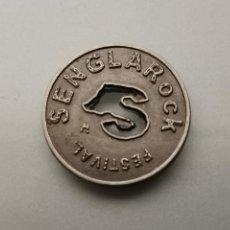 Monedas locales: FICHA SENGLAROCK FESTIVAL LLEIDA DESAPARECIDO EN 2008. Lote 157917092