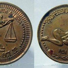 Monedas locales: TOKEN EROTICO SIGNO DEL ZODIACO LIBRA. Lote 157956922