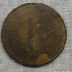 Monedas locales: FICHA COMERCIAL 1 PESETA, A IDENTIFICAR. Lote 158285810