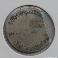 Monedas locales: COOPERATIVA LA CONSTANCIA SAGRERENSE - 1 PESETA. Lote 158287114