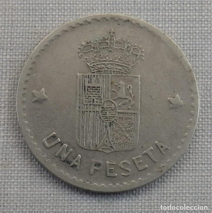 Monedas locales: FICHA ANTIGUA UNA PESETA HIPICA CABALLO CASINO? - Foto 2 - 158298682