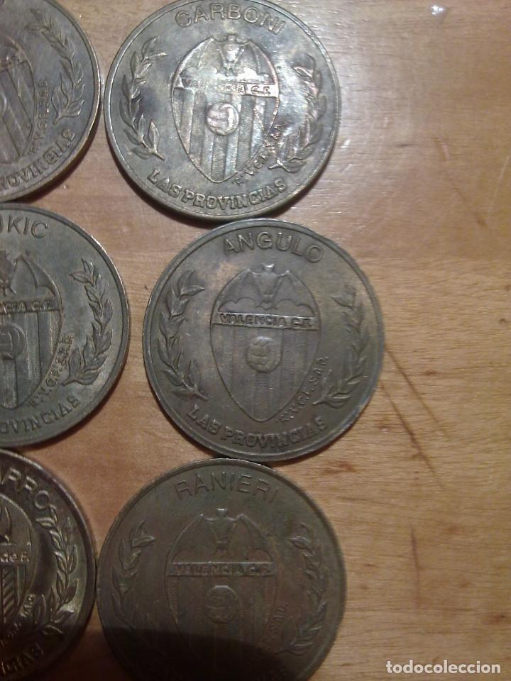 Monedas locales: 15 MONEDAS DEL VALENCIA C:F DEL PERIODICO LAS PROVINCIAS - Foto 2 - 158305966