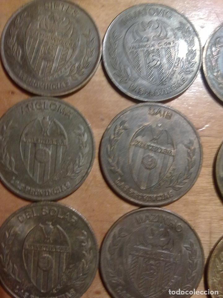 Monedas locales: 15 MONEDAS DEL VALENCIA C:F DEL PERIODICO LAS PROVINCIAS - Foto 5 - 158305966