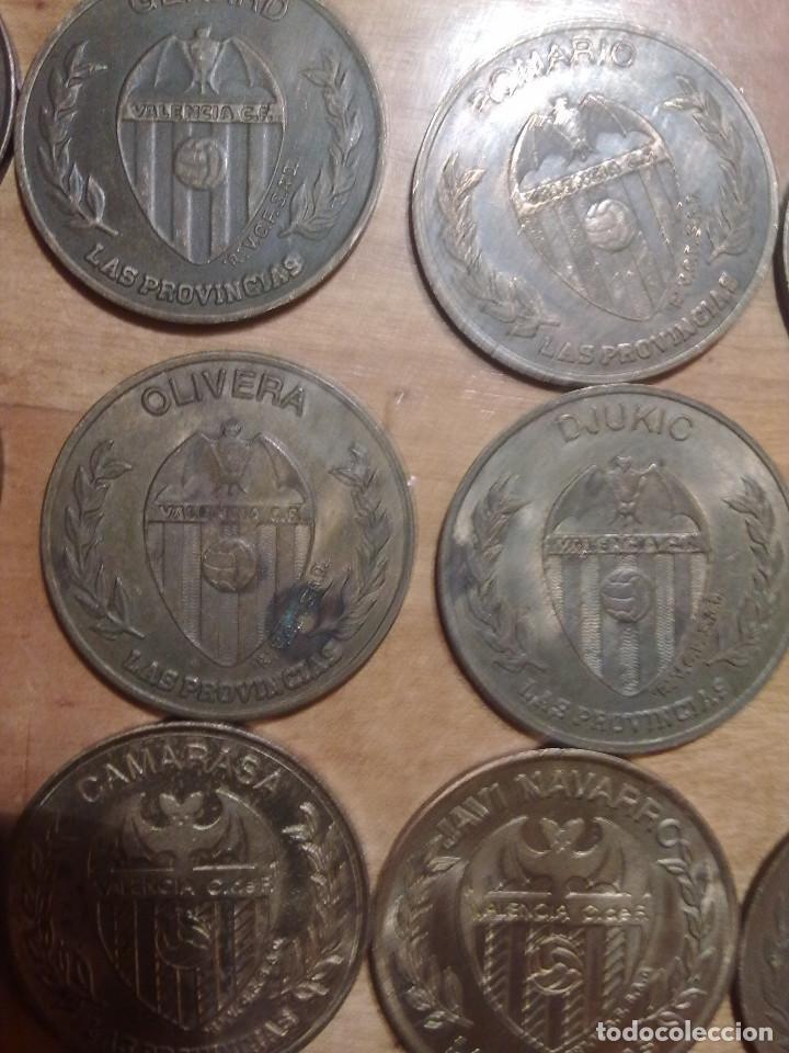 Monedas locales: 15 MONEDAS DEL VALENCIA C:F DEL PERIODICO LAS PROVINCIAS - Foto 6 - 158305966