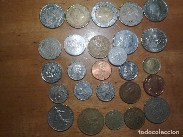 LOTE DE 26 MONEDAS EXTRANGERAS (Numismática - España Modernas y Contemporáneas - Locales y Fichas Dinerarias y Comerciales)