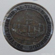 Monedas locales: FICHA 3 MARAVEDÍES FESTIVAL MEDIEVAL VILLA DE ALBURQUERQUE. Lote 158307034