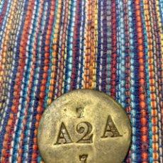 Monedas locales: FR- RARA FICHA COMERCIAL A2A. Lote 158808708