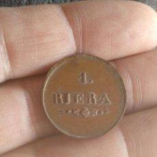 Monedas locales: FICHA ANTIGUA RIERA - TARRAGONA O TIENDA VALOR NUMERACIÓN 1 - RARA. Lote 158841586