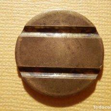 Monedas locales: ANTIGUA FICHA TELÉFONO - - SIN MARCAS - 2 CANALES CON CARA PLANA - 25 MM . Lote 158879234