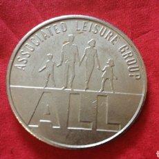 Monedas locales: FICHA DE 10 PENIQUES DE ASSOCIATED LEISURE GROUP. Lote 159680229