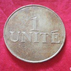 Monedas locales: FICHA 1 UNITE. Lote 159680889