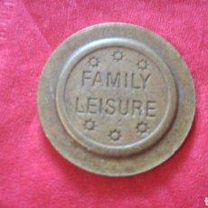 Monedas locales: FICHA FAMILY LEISURE. Lote 159683829