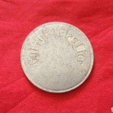 Monedas locales: FICHA ALEMANA. VALE POR UNA CERVEZA. Lote 159728102