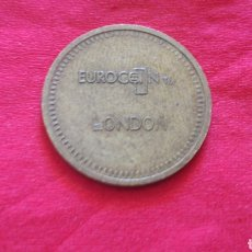 Monedas locales: TOKEN 20 PENIQUES EUROCOIN LONDON. Lote 159728729