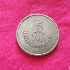 Monedas locales: FICHA KWM. Lote 159729088