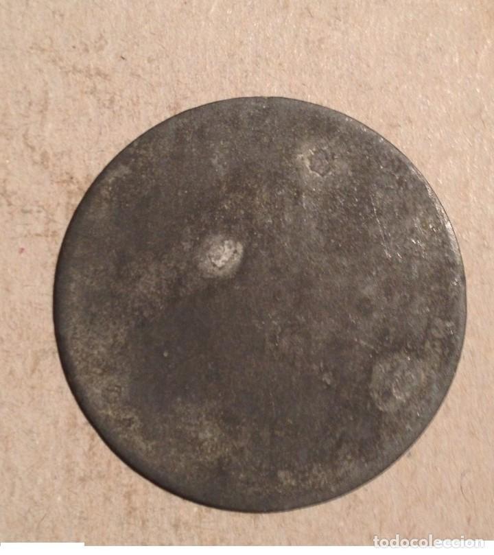 Monedas locales: MERCADO DEL BORNE 1 BARCELONA - MONEDA FICHA DE 20 - BONITA PIEZA DE COLOR ROJO DE EUSEBIO TUBAU - Foto 2 - 160295258