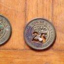 Monedas locales: LOTE DE 3 FICHAS MONEDA DEL SINDICATO AGRÍCOLA DE LLAVANERES DE 25 P-102 T-2-B. EN BUEN ESTADO.. Lote 160731382
