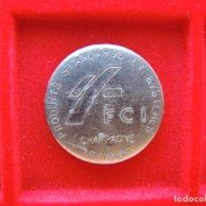 Monedas locales: FICHA - TOKEN 'FCI', CHAMPAGNE, FRANCIA. Lote 162367954