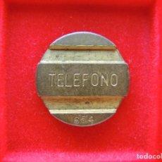 Monedas locales: FICHA - TOKEN 'TELEFONOS', SERIE '654', NÚMERO 90. Lote 162382310