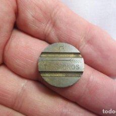 Monedas locales: FICHA DE TELEFONOS H. Lote 162765346