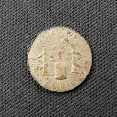 Monedas locales: FICHA PUBLICITARIA. ALFONSO XIII. FRICCIOL CURA LA CALVICIE, PEDIDLO EN PERFUMERIAS Y FARMACIAS.. Lote 202451228
