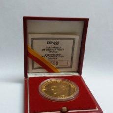 Monedas locales: EXPO 92 SEVILLA MEDALLA BRONCE CONMEMORATIVA. Lote 163846773