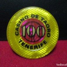 Monedas locales: CASINO DE TAORO TENERIFE. Lote 167596520