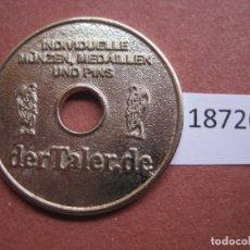 Monedas locales: FICHA, TOKEN, JETÓN. Lote 170389928