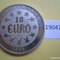 Monete locali: FICHA ALEMANIA EUROPA EUROPRUEBA, EURO 1998, TOKEN, JETÓN. Lote 171061589